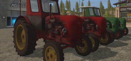 Мод трактора Famulus RS14/36W v 3.0 Farming Simulator 2017