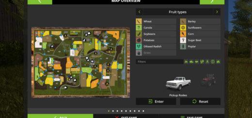 Мод карта FarmTown V1 FS17