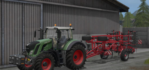 Мод трактор Fendt 800 Vario v 1.0 Farming Simulator 17