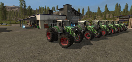 Мод ПАК Fendt 900 Series Pack v 1.0.0.2 Farming Simulator 17