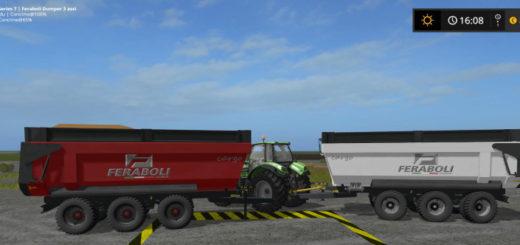 Мод прицеп Feraboli Dumper v 1.0 Farming Simulator 2017