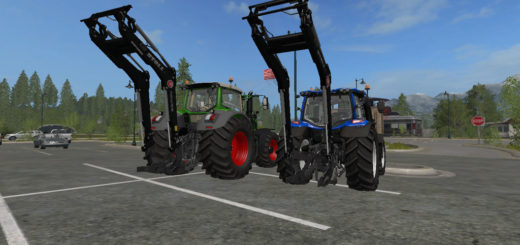 Мод Frontloaderconsole For 3 Point Hitch v1.0.0.1 Farming Simulator 17