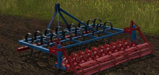 Мод культиватор Gorenc Granoter v 1.0 Farming Simulator 2017