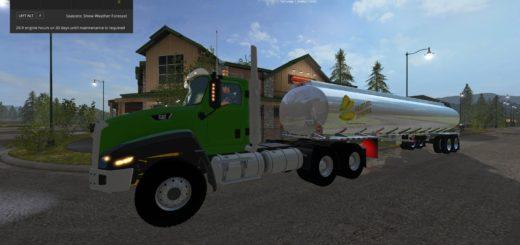Мод бочка Heil Fuel Tanker v 1.0 Farming Simulator 17