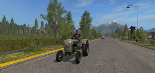 Мод трактор Hatz H340 v 1.0 Farming Simulator 2017