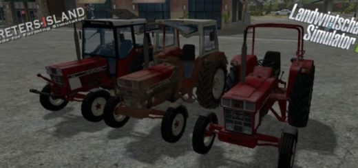 Мод трактор IHC 644 v 1.0.0 Farming Simulator 2017