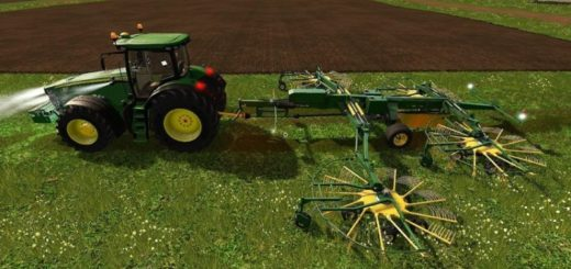 Мод John Deere 1252 Windrower v 1.0 Farming Simulator 2017