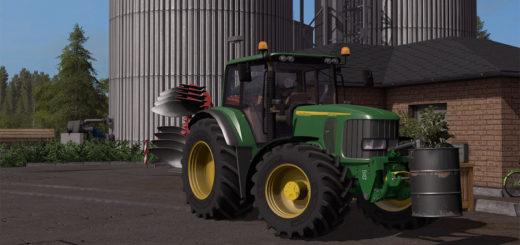 Мод трактор John Deere 6920S v 2.0 Farming Simulator 2017