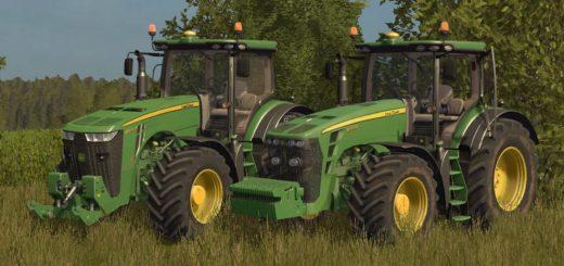 Мод трактор John Deere 8R Speciale v 2.0 FS 17