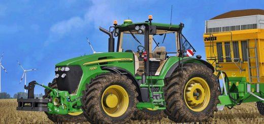 Мод трактор John Deere 7030 Serie v 2.1 FS 17