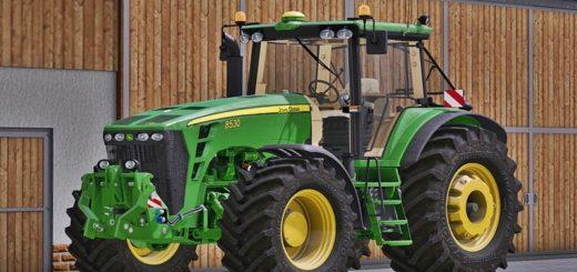 Мод трактор John Deere 8530 v 3.0 Farming Simulator 17