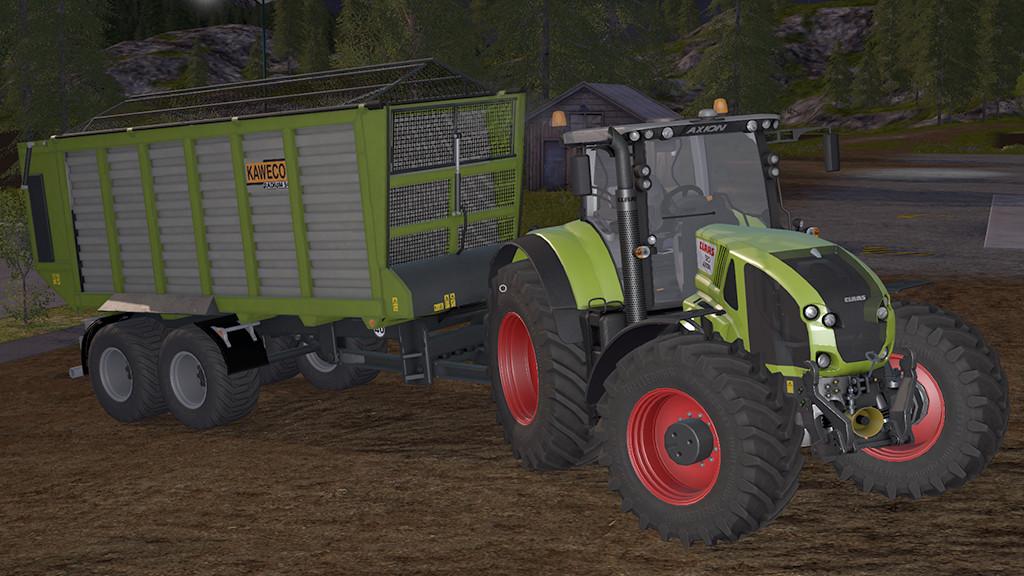 Мод прицеп KAWECO Radium 50 v1.1 Farming Simulator 17