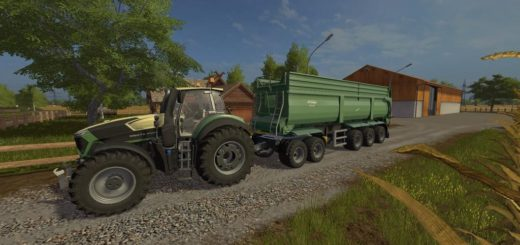 "Мод прицеп Krampe Bandit Semi v 1.0.0.0"" для Farming Simulator 2017"