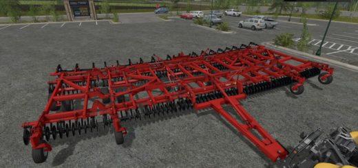 Мод культиватор Kuhn Krause Excelerator 8000-50 v 1.0 Farming Simulator 2017