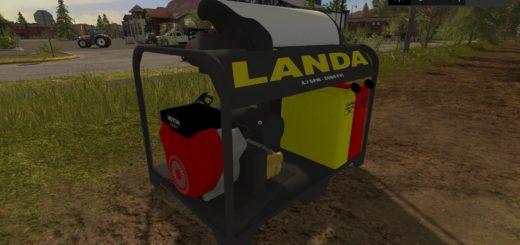 Мод мойка Landa Pressure Washer v 1.0 FS 17