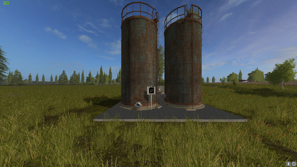 Мод Liquid Fertilizer Storage 1.2.0.0 Farming Simulator 17