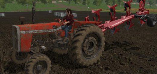 Мод трактор Massey Ferguson 265 v 1.0 FS 17