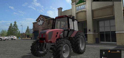 Мод трактор МТЗ MTZ 1220.3 v 1.0.0.1 Фарминг Симулятор 2017