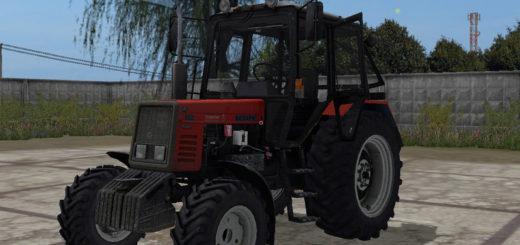 Мод трактор МТЗ 892 v 2.1 Фермер Симулятор 2017