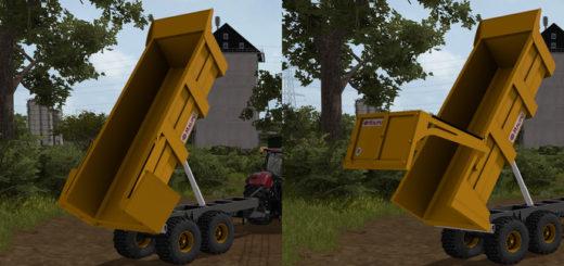Мод прицеп Maupu 1122C v 0.1 Farming Simulator 17