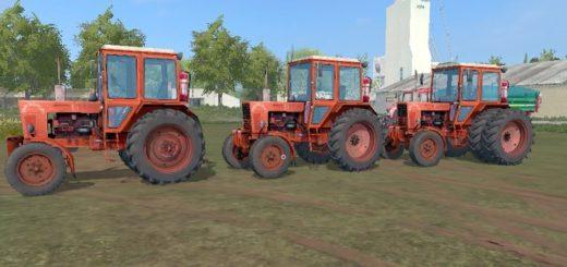 Мод трактора МТЗ 80 и 82 Пак v 1.1 Фарминг Симулятор 2017