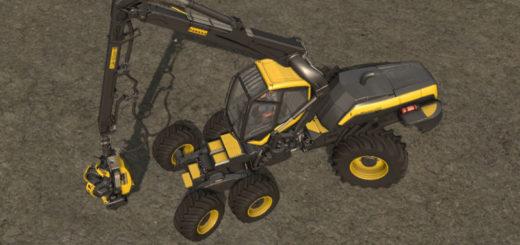 Мод харвестер Ponsse Ergo v 1.0 Farming Simulator 17