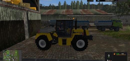 Мод трактор Fortschritt Progress ZT323 SB v 2.0 Farming Simulator 2017