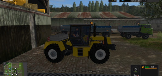 Мод трактор Progress ZT323 SB v 1.0 Farming Simulator 2017