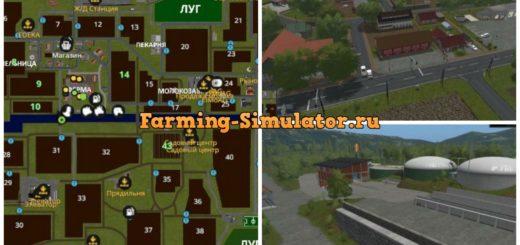 Мод карта Südhemmern V 6.0 Farming Simulator 2017