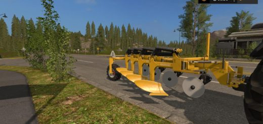 Мод плуг Salford 4204 Yellow v 1.0 Farming Simulator 2017