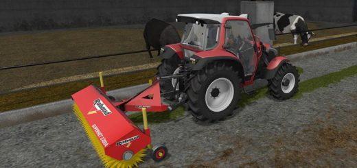 Мод Sweeper Rabaud SUPERNET 2200A v 2.0 Farming Simulator 17