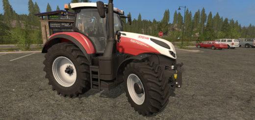 Мод трактор Steyr Terrus CVT Tuning v 1.4 Farming Simulator 2017