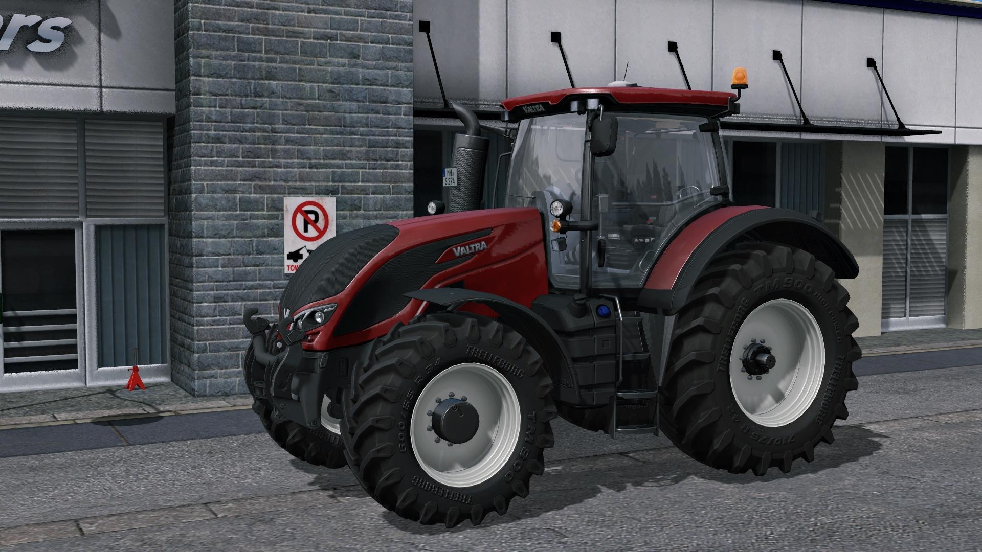 Мод трактор Valtra S v 1.0 FS 17