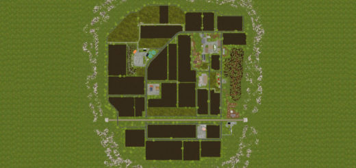 Мод карта Vogelsberg v 1.1 FS17