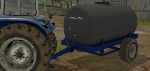 Мод бочка WatTrans 2500 v 1.0 Farming Simulator 2017