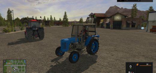 Мод трактор Zetor 3011 v 1.2 Farming Simulator 2017