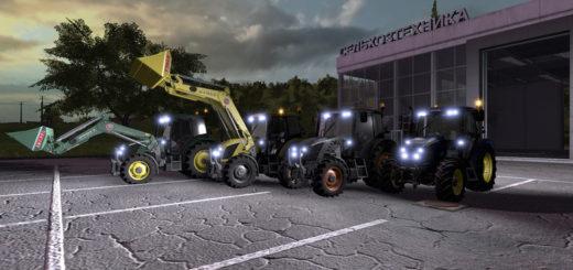 Мод трактор Zetor Proxima 120 Multicolor v 1.0.0.0 Farming Simulator 17