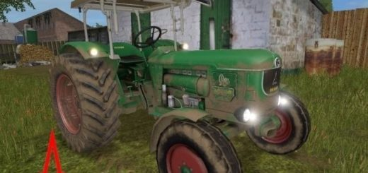 Мод трактор Deutz D80 v 1.4 Farming Simulator 2017
