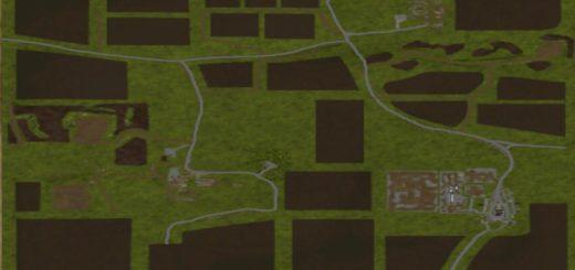 Мод карта Drumard v1.0.0.3 Farming Simulator 17