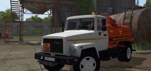 Мод ГАЗ 3309 АТЗ-4.9 Test version Фарминг Симулятор 2017