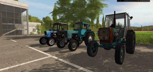 Мод трактор MTZ 82 Турбо-версия Фермер Симулятор 2017