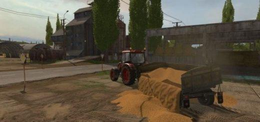 Мод cтарый прицеп v 1.1 Farming Simulator 17