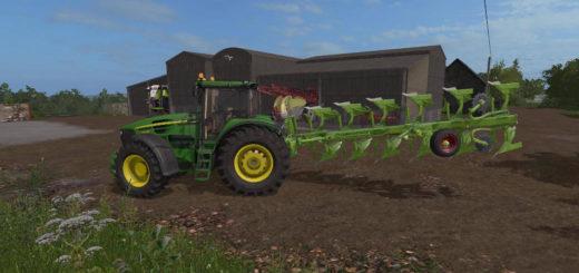 Мод плуг Dowdeswell 125MA v 1.0 Farming Simulator 2017