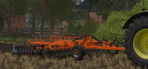 Мод культиватор Laumetris DSL 5 v 1.0 Farming Simulator 2017