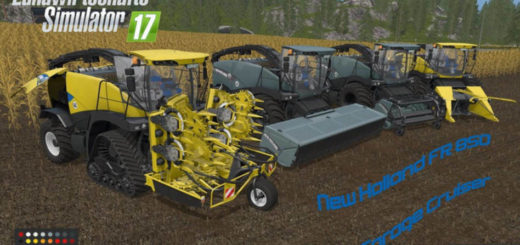 Мод New Holland FR v 1.0 Farming Simulator 17