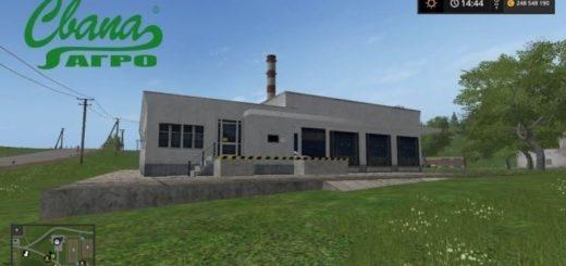 Мод Сахарный завод v 1.0.0 Фарминг Симулятор 2017