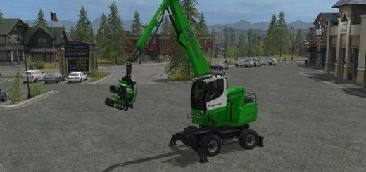 Мод харвестер Sennebogen 718 E v 1.0 Farming Simulator 2017