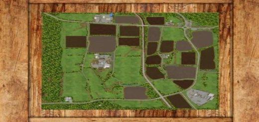 Мод карта Thornton v1.0 Farming Simulator 2017