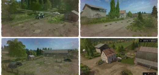Мод карта DREISTERN HOF v1.2 Farming Simulator 17