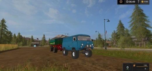 Мод УАЗ 452 v 1.0 Фарминг Симулятор 2017